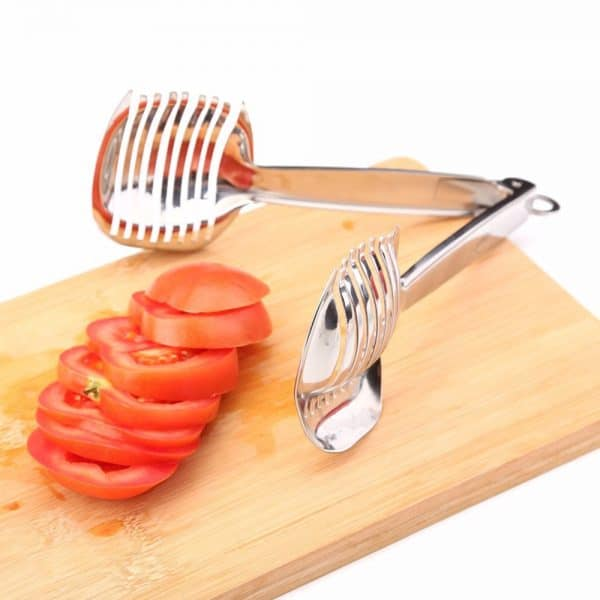 Stainless Steel Tomato Onion Lime Slicer