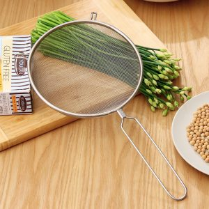 Stainless Steel Mesh Fried Food Strainer