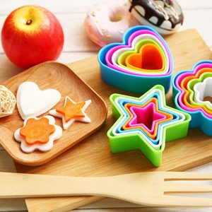 Colorful Plastic Cookies Cutter