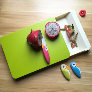 Plastic Chopping Block With Drawer Storage
