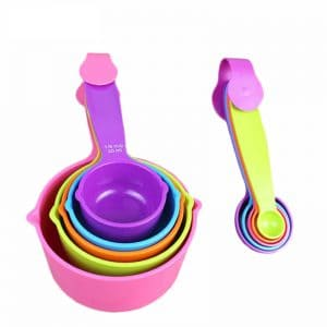10pcs/set Measuring Spoon and Cups
