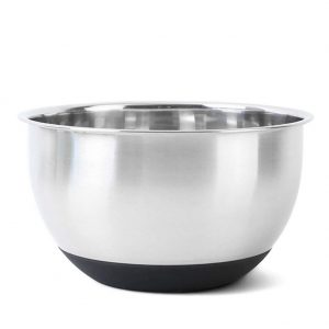 Stainless Steel Mixing Bowl With Non Slip Base