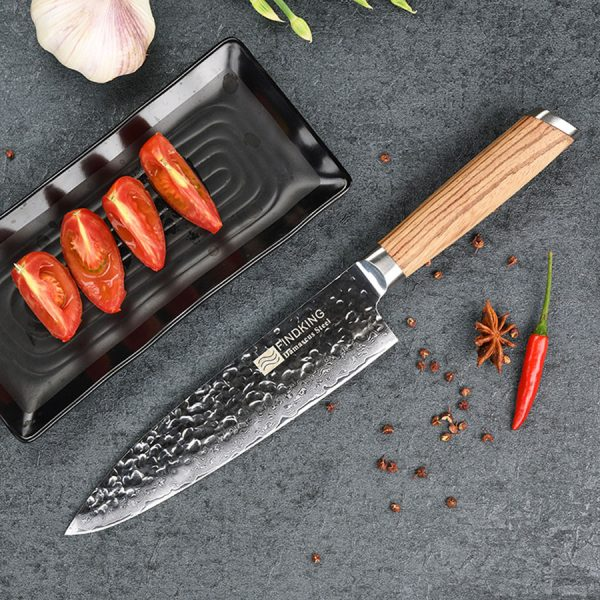 8 inch Professional Chef Knife with Wood handle