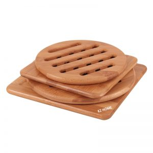 Bamboo Hot Plate Available in 2 Sizes
