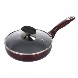 Frying Pan With Exhaust Lid