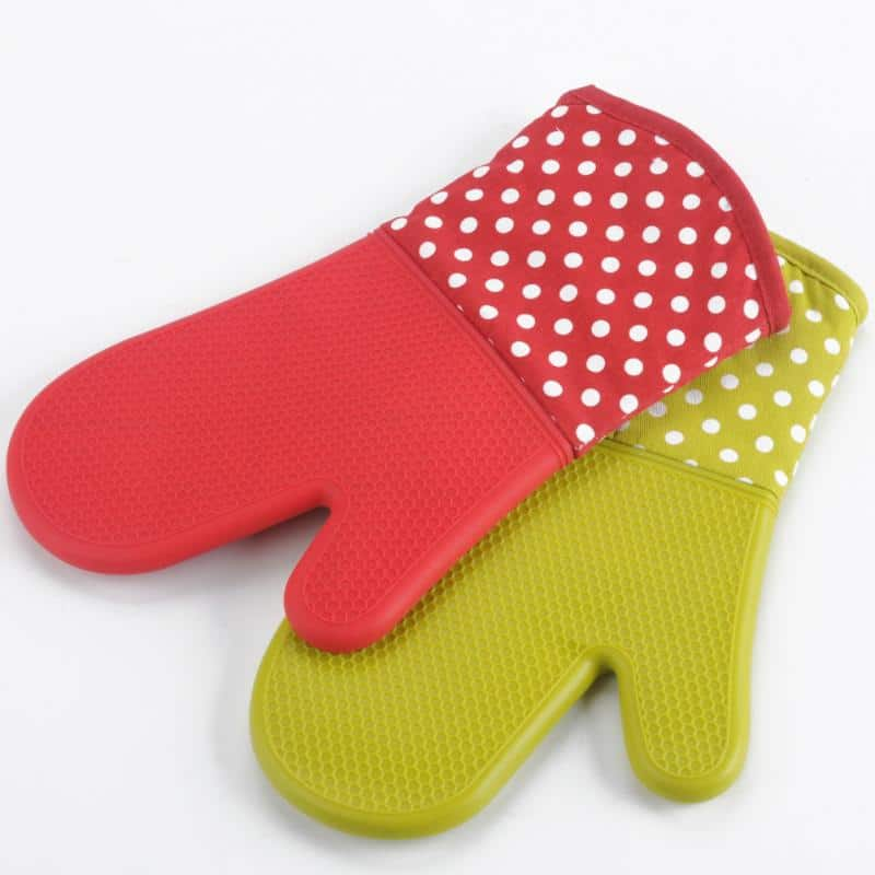 Silicone Mitts For Microwave & Oven