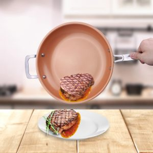 Ultra Non Stick Pan with Two Handles