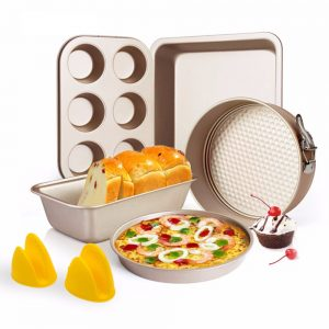 6 Pcs Nonstick Cake Baking Set