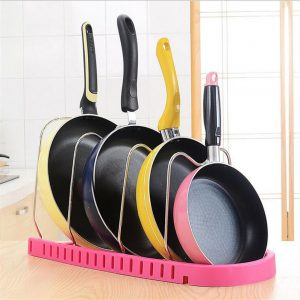 Pans & Cover Lids Storage Rack