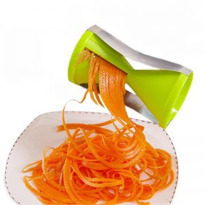 Funnel Shape Vegetable Spiral & Fruit Slicer