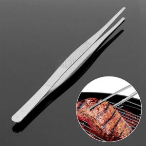 30cm Silver Stainless Steel Food Tong