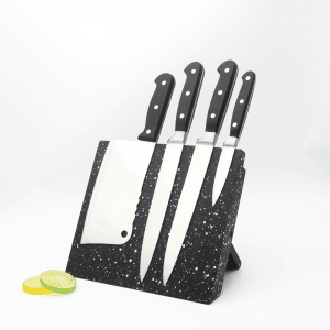 Black Granite Style Magnetic Knife Holder