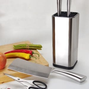 Stainless Steel Knife Block Stand