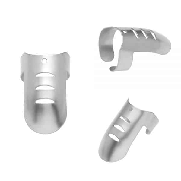Stainless Steel Finger Protector 4Pcs