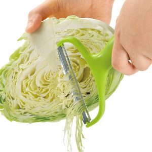 Stainless Steel Vegetable Peeler and Cabbage Grater