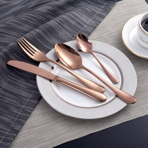Luxury Stainless Steel Cutlery 4Pcs/Set