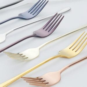 7PCS Stainless Steel Dinner Fork Set