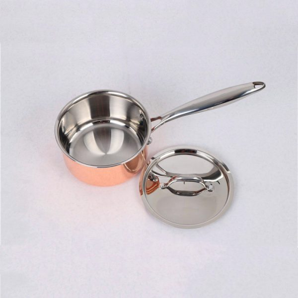 16 cm Milk Pan with Steel Cover