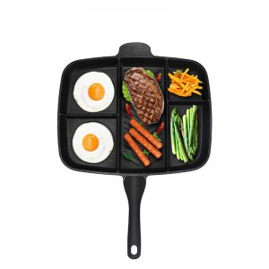 5 in 1 Non-Stick Frying Skillet