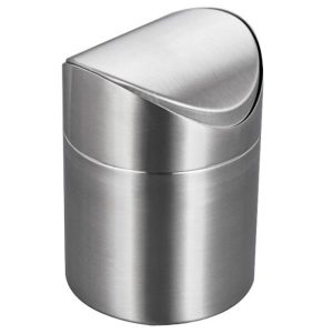 Stainless Steel Mini Trash Bin