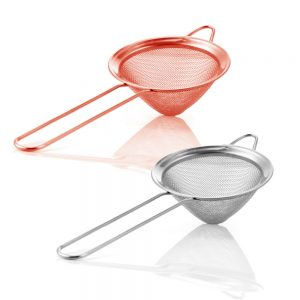 2Pcs Stainless Steel Fine Mesh Strainer