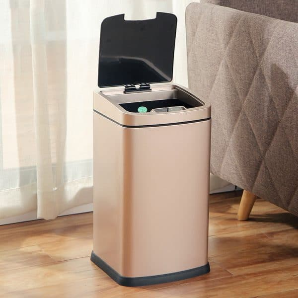 12L Automatic Stainless Steel Trash Bin