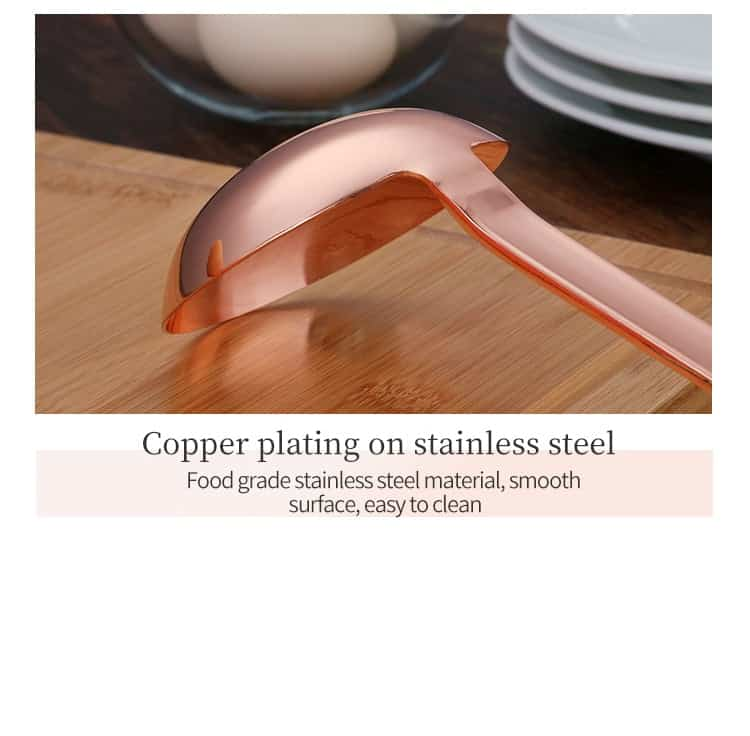 Rose Gold Stainless Steel Soup Ladle