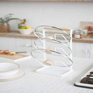 Stainless Steel Cover Lid Rack
