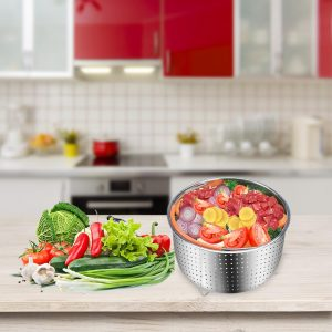 Stainless Steel Basket Steamer Cooker
