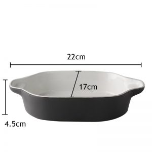 Porcelain Baking Pan Dish