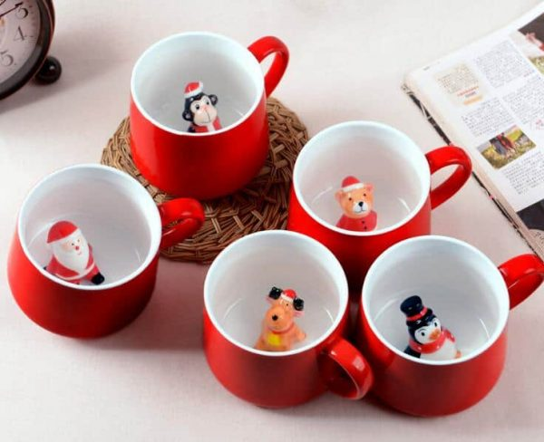 Christmas Favors Ceramic Mug 400ml