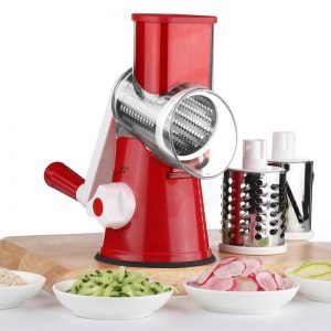 Mandoline Vegetable Slicer & Chopper With 3 Blades