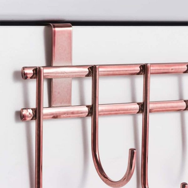 Rose Gold Cabinet Door Hanger