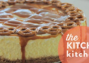How to Make Salted Caramel Cheesecake // Living Deliciously