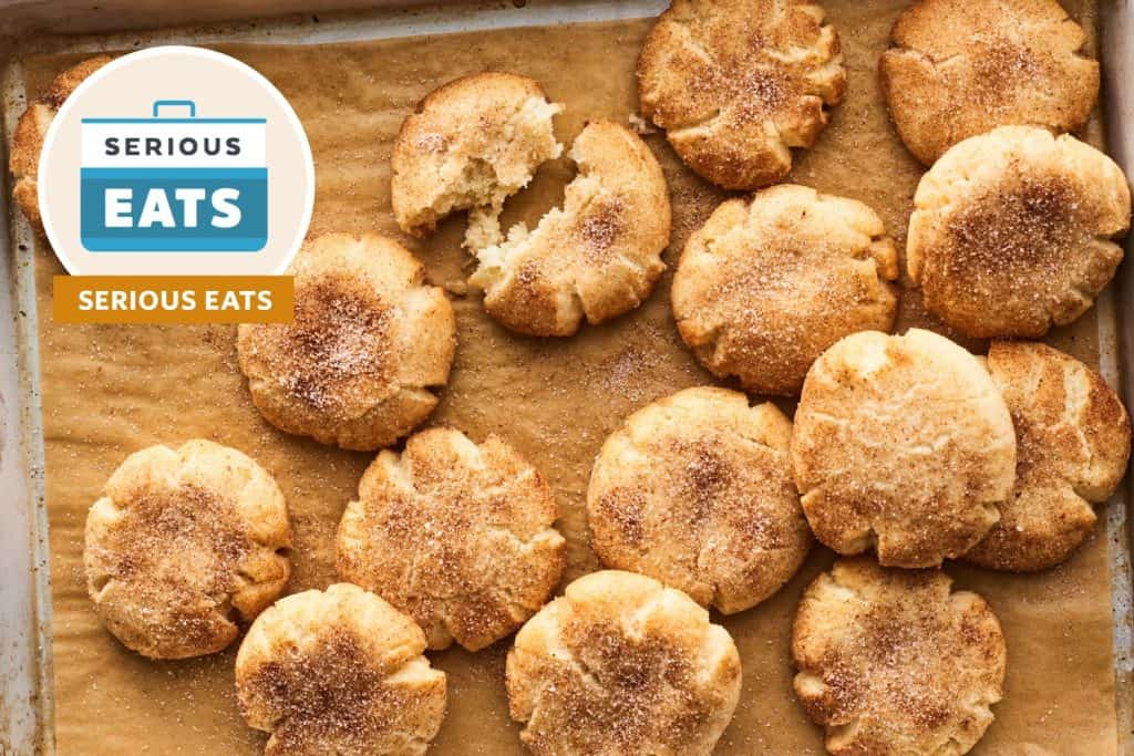 I Tried Serious Eats' Snickerdoodle Recipe