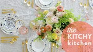 My Wedding Tablescape // Living Deliciously with Dishwish