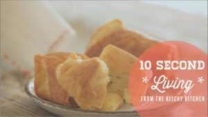 How to Make Popovers // 10 Second Living